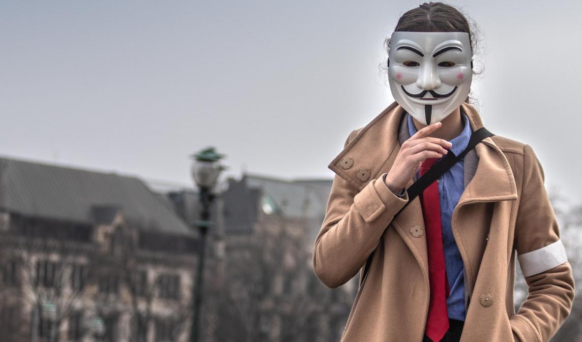 anonymní žena